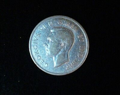 1938 Canadian 50 cent coin  80% Silver