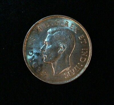 1944 Canadian 50 cent coin  80% Silver