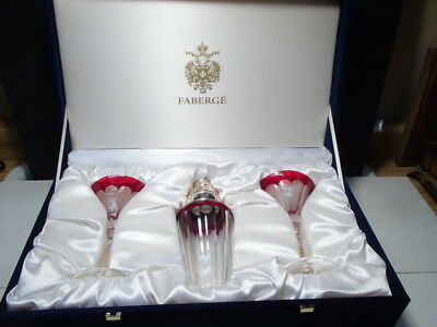Faberge Grand Duke Martini Set with Shaker ~~~ RARE SET ~~ Orig. Box