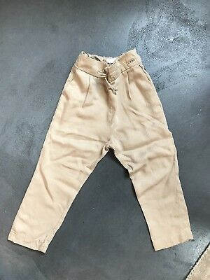 Chloe Kids Chinois Trousers 4 Years camel colour