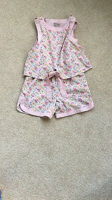 Next floral jump suit - 4 years