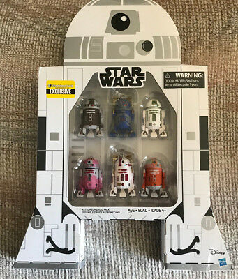 Star Wars The Black Series Astromech Droids pack 6 figurines EE Exclusive 494224