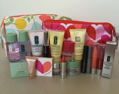 Clinique lotion+ superdence chubby stick mascara solution Aromatics pop oil lip