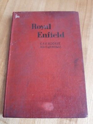 royal enfield motorcycles repair manual owners handbook  C.A.E Booker 1951