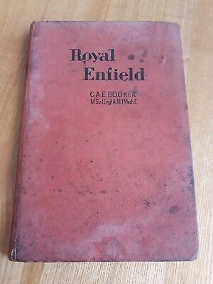 royal enfield motorcycles repair manual owners handbook  C.A.E Booker 1950