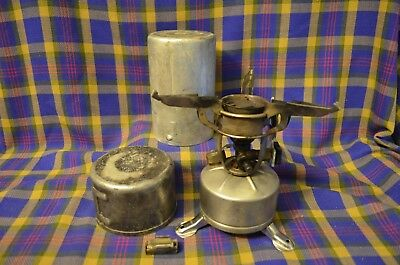Vintage MC Mfg Co 1945 Military WWII Issue Single Burner Camp Stove