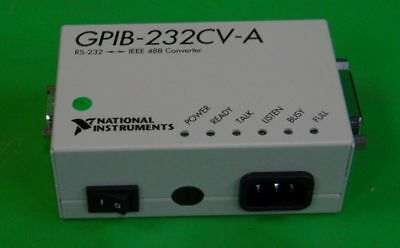 National Instruments (Ni) Gpib-232Cv-A Rs232-Ieee 488 Converter  New
