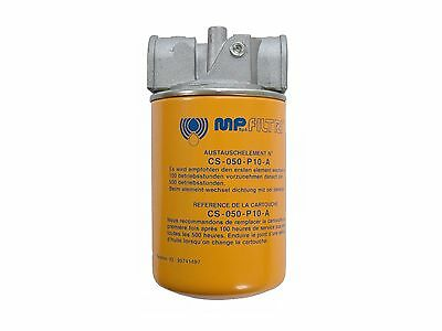 """MP Filtri Hydraulic Spin on Filter Assembly 25µm Nom Paper 3/4"""" BSP Port"""