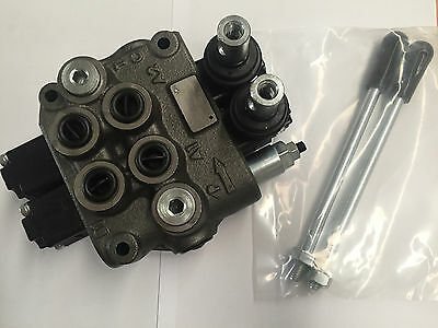 2 Spool Hydraulic valve DCV two bank