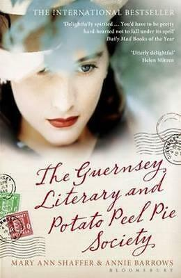 NEW The Guernsey Literary and Potato Peel Pie Society By Mary Ann Shaffer