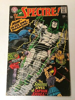 THE SPECTRE 1 Dec 1967 DC FINE condition plus FREE Issue 1 of later series!!