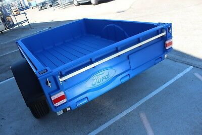 Ford branded POLY Trailer - Tuffmate2000 6x4
