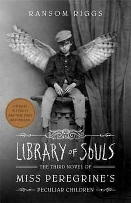 NEW Library Of Souls  By Ransom Riggs Paperback Free Shipping