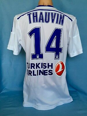Olympique Marseille Florian Thauvin Match Shirt Maglia Camiseta Trikot Maillot