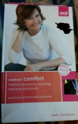 d70b26432f Mediven Comfort Compression Stockings 15-20 panty navy I NEW 45131 closed  toe