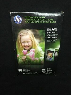 (CL) HP Photo Paper 100 Sheets 4x6 Glossy CR759A - FREE US SHIPPING