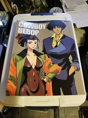 COWBOY BEBOP Characters Collection w/Poster Art Book Anime GK71x