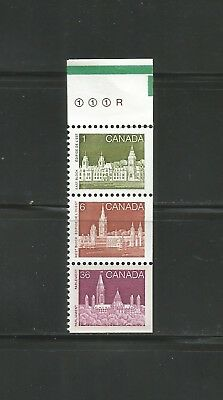 BOOKLET STRIP FROM 948a  #938, 942, 948