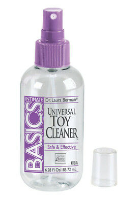 NEW Berman Anti-Bacterial Toy Cleaner,185ml   Essentials   Sex Toy Cleaners