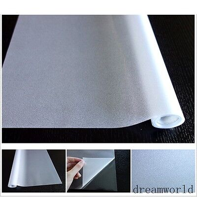 Frosted Clear Static Cling Cover Home Decoration Window Door Privacy Glass Film