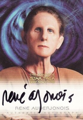 Complete Star Trek Deep Space Nine Rene Auberjonois / Odo Variant A10 Auto Card
