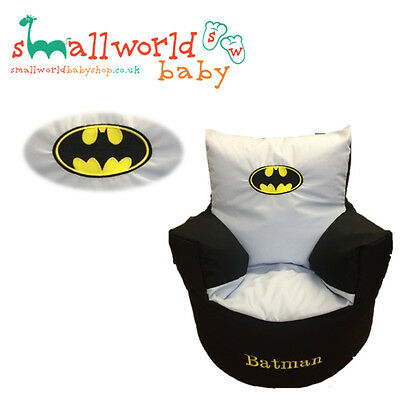 Personalised Boys Batman Toddler Bean Bag Chair (NEXT DAY DISPATCH)
