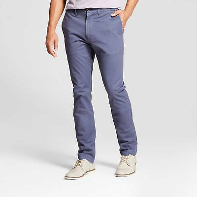 Men's Slim Fit Hennepin Chino Pants- Goodfellow & Co™ Navy