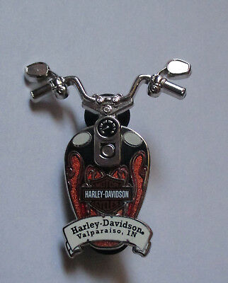 pin's Harley Davidson / Valparaiso In (double moule - double attache)