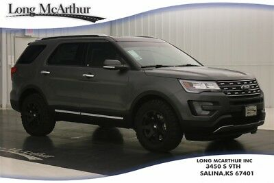 """2017 Ford Explorer 4WD OFFROAD WHEELS & TIRES LIMITED 4X4 2.3  ECOBOOST MSRP $51155 OFF ROAD PACKAGE! 18"""" BLACK RHINO WHEELS, BFG ALL TERRAIN TIRES, WINDOW TINT"""