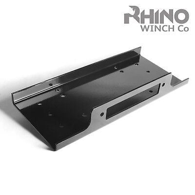 Winch Mounting Plate for Heavy Duty 17500lb - 20000lb 4x4 Off Road - RHINO WINCH