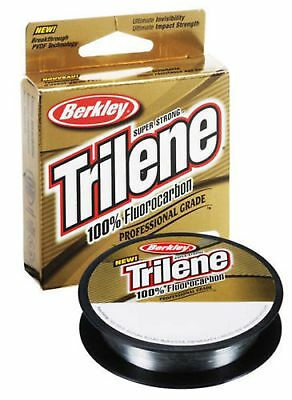 Berkley Trilene 100% Fluorocarbon Clear 110yd All Sizes Fly Fishing Leader Line