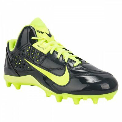 NEW Nike Speedlax 4 Lacrosse Cleats Shoes Dark Grey / Volt Size 11.5 M LAX