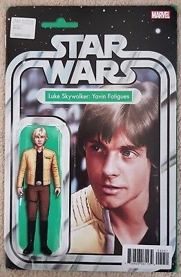 Star Wars #40 Action Figure Variant - Luke Skywalker Yavin - JTC Exclusive - NM