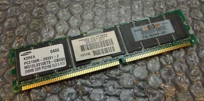256MB HP Samsung 261583-031 PC2100R 266MHz Registered DDR1 ECC Server Memory