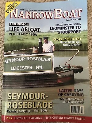 Back Copies of NarrowBoat