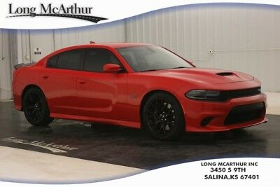 2017 Dodge Charger SRT 392 SCAT PACK R/T 8 V8 HEMI HELLCAT WHEELS RED LEATHER ONE OWNER! CLEAN AUTOCHECK ZURICH CERTIFIED WARRANTY DVD AUDIO BLUETOOTH SIRIUS