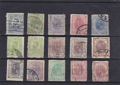 lot de  timbres roumanie romania  stamps