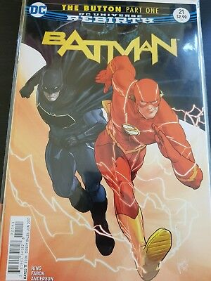 The Flash #21 The Button DC Comics
