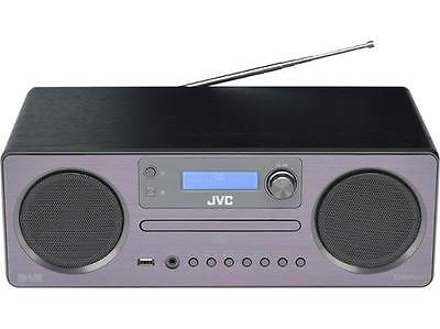 JVC RD-D70 Wireless All in One DAB/FM Hi-Fi System CD Player, Bluetooth & USB