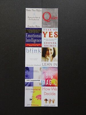 Bookmark featuring Popular Psychology Books from Boston Public Library