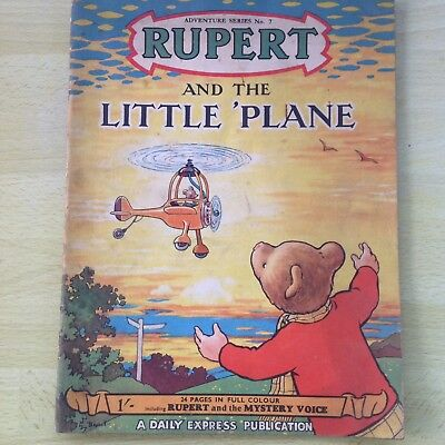 Rupert And The Little Plane Adventure Series No. 7