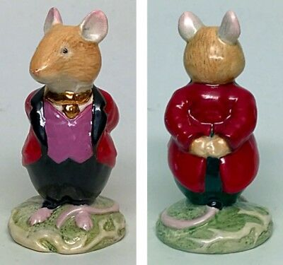 "Red Jacket - Royal Doulton ""Lord Woodmouse"" Brambly Hedge Figurine DBH4"