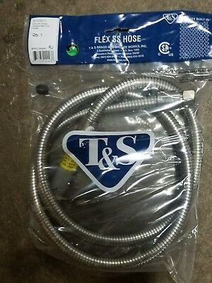 T&S Brass B-0068-H Flexible  Stainless Hose