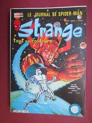 Strange N° 156 Decembre   1982   Lug X Men Spiderman Stan Lee Marvel Quasi Neuf