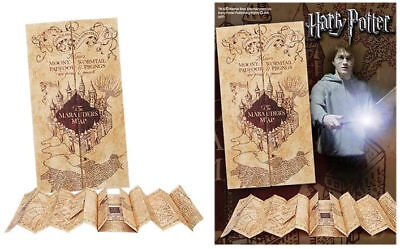 Harry Potter: The Marauders Map Fold Out Replica Prop - New & Official - Sealed
