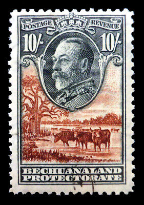 BECHUANALAND 1932 - 10/- SG110 Fine/Used Cat £325 NC1404