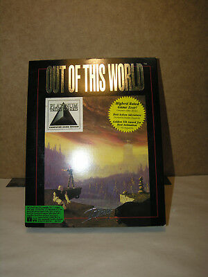 Out of this World Game IBM Tandy 1991 Complete