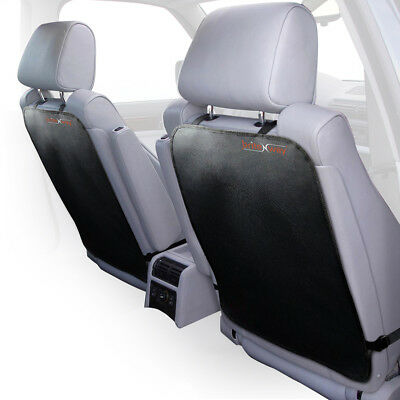 Car Kick Mats For Back Seat Protection Adjustable Auto Seat Back Covers, Durable