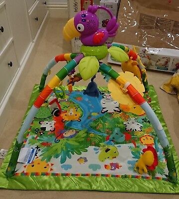 Fisher-Price Music & Lights Rainforest Deluxe Gym