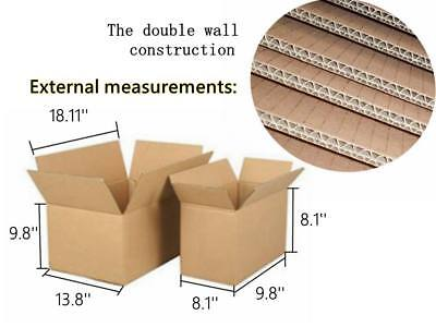 Cardboard Double Wall House Moving Plain Boxes Removal Packing
